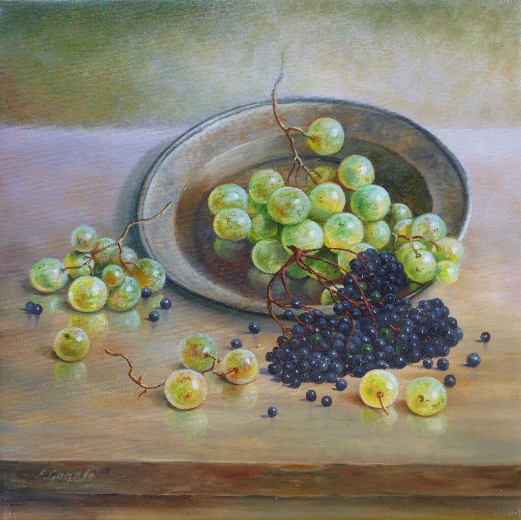 Weintrauben und Holunder