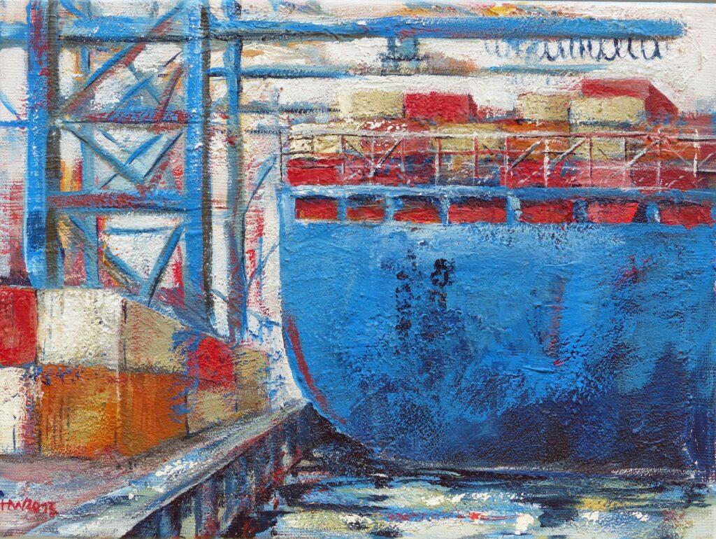 Am Containerterminal