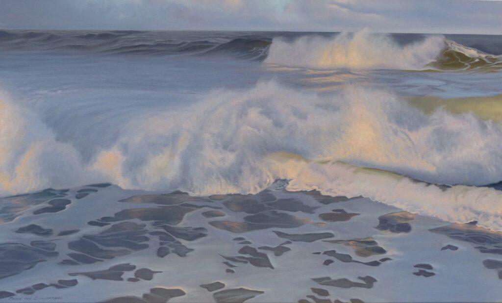 Morgen an der Nordsee