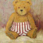 Teddy in Badehose