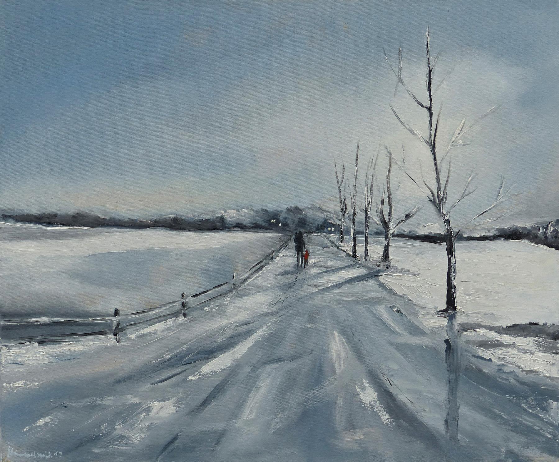 Winterlandschaft Angeln